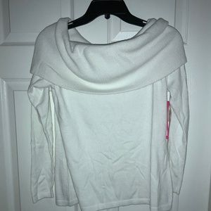 Lilly Pulitzer Christin off the shoulder Sweater